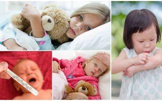 A temperatura das picadas de mosquito em adultos e crianças