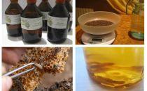 Indicações e contra-indicações de traça de cera de tintura
