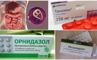 Os melhores medicamentos para o tratamento da Giardia em adultos