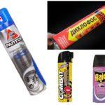 Sprays de Barata
