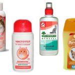 Shampoos de pulgas