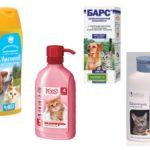 Shampoos de pulgas de gato