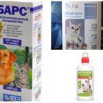 Shampoos de pulgas para gatos e cães