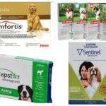 Comprimidos de pulgas para cães