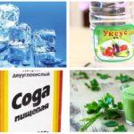 Remédios populares para picadas de midge