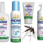 Série Picnic Baby contra mosquitos
