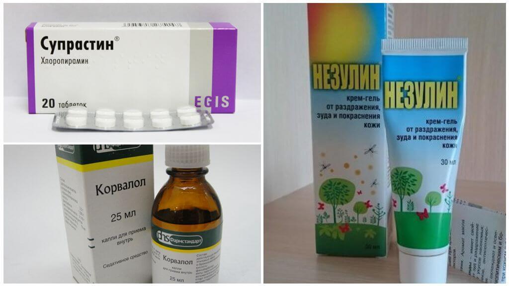 Medicamentos para picadas de insetos