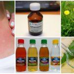 Remédios populares para picadas de mosquito